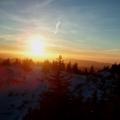 Coucher de soleil dans le Vercors lors des randonnées dans le Vercors